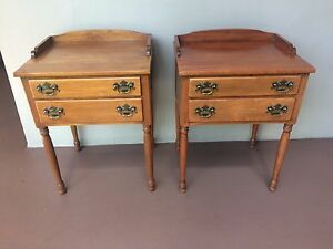Free Shipping Ethan Allen Nightstands Tables Heirloom Collection