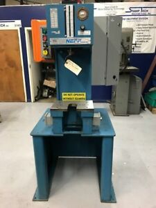 Reconditioned 12 Ton Neff Hydraulic C frame Press
