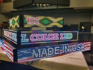 Led Sign Full Color Double From 51 To 100 4ft To 8 Ft made In Usa