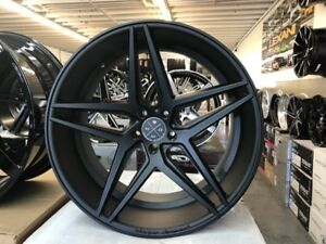 22 Inch Staggerd Bd8 Rims Tires Fit Chrysler 300 Dodge Charger Challanger