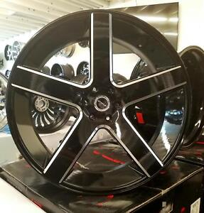 28 Inch Strada Perfetto Rims Wheel Tire Fit Chevy Gmc Ford Asanti Forgiato