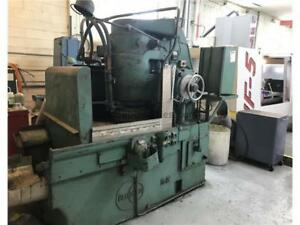 Blanchard 18 Rotary Surface Grinder Under Power And Running