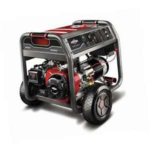 Briggs Stratton 8000w Running 10000w Starting Portable Gas Generator damaged