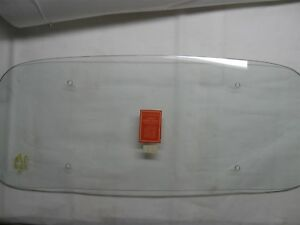 1946 47 Packard Sedan Taxicab Ppg Herculite Back Bent Window Clear 56 Wow Nice