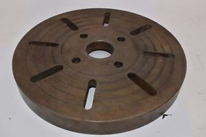 Machinist Lathe Mill 15 3 4 Indexing Table Plate Fixture Of 118