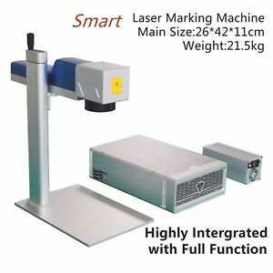 Raycus 20w Genuine Ezcad Smart Laser Marking Machine Laser Engraver Portable