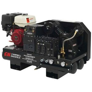 New Combination Unit 10 Gallon Compressor 5000 Watt Generator 180a Welder