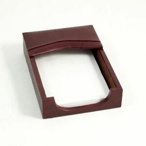 Bey Berk Tan Leather 4 x6 Memo Holder
