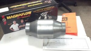 59956 2 5 Universal High Flow Performance Spun Catalytic Converter not For Ca