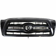 Fits 2005 2010 Toyota Tacoma Front Bumper Radiator Grille Paintable New
