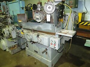 8 X 24 Norton Model S 3 Hydraulic Surface Grinder