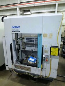 Brother Model Tc32a Cnc Drill tap Center With Pallet Changer
