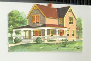 Bungalow Radford Architectural Co Houses 1904 Die Cut Ad And Vintage Brochure