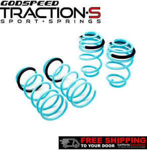 Godspeed Project Traction S Lowering Springs For Nissan Versa 5dr Hb C11 2007 12