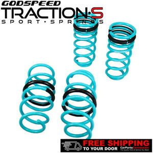 Godspeed Traction S Lowering Springs For Honda Civic 2006 2011 Include Si Fg Fa
