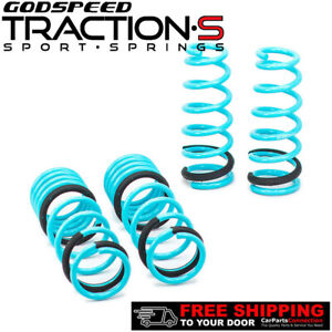 Godspeed Traction s Lowering Springs For Honda Accord 2003 2007 Ls ts ha 0003 a