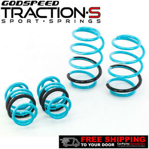 Godspeed Traction S Lowering Springs For Nissan Sentra B17 13 Up Ls Ts Nn 0011