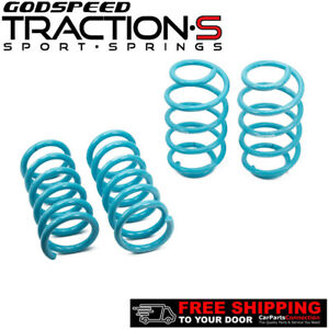 Godspeed Traction s Lowering Springs For Ford Fusion 13 Fwd awd Ls ts fd 0010