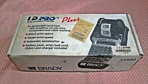 Brady I d pro Plus Wire Marker Printer In Box W Power Supply Manual