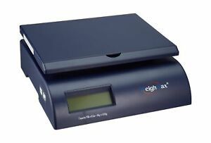 Weighmax Postal Shipping Scale With Battery And Ac Adapter Blue