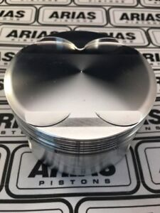 Arias 3 640 13 0 1 Dome Top Pistons For 2011 2017 Ford Mustang 5 0l 302 Boss