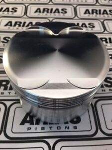 Arias 3 650 13 0 1 Dome Top Pistons For 2011 2017 Ford Mustang 5 0l 302 Boss