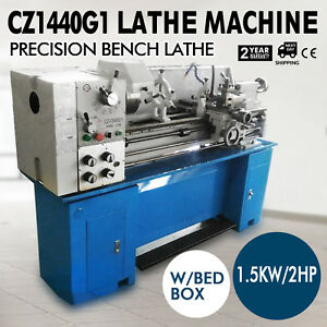 Cz1440g1 Metal Lathe Machine Variable Speed Cooling System 4handless Gearbox