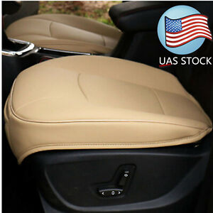 Usa Beige Pu Leather 3d Full Surround Car Seat Protector Seat Cov