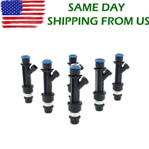 25313185 6pcs Fuel Injectors For 02 04 Buick Chevy Oldsmobile Gmc Isuzu 4 2l L6