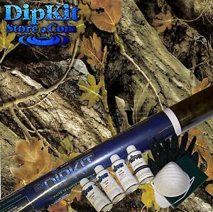 Hydrographics Film Kit My Dip Kit Store Fall Oak Spring Camo Hydro Dipping Hc452