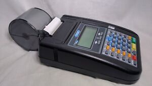 Hypercom T7 Plus T7 Plus Credit Card Terminal Reader Machine With Power Supply