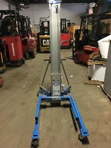 2013 Genie Sla 5 Material Lift Factory Reconditioned Push Around Style
