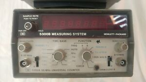 Hewlett Packard Measuring System 5300b Hp 50mhz Universal Counter