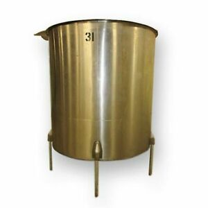 Used Chem tek 1024 Gallon Stainless Steel Tank