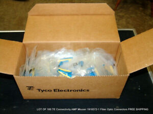 100 Te Connectivity Amp Mouser 1918372 1 Fiber Optic Connectors Free Shipping