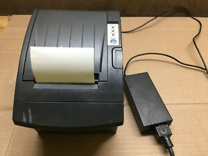 Bixolon Thermal Receipt Pos Point Of Sale Printer Model Pr10135 With Ac Adapter