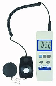 Reed Instruments R8120 Lux Light Meter With Detachable Sensor 20 000 Lux
