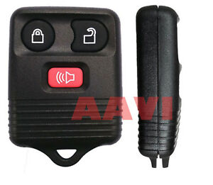 Best Replacement 3 Button Keyless Entry Remote Key Fob For Ford Cars Vans