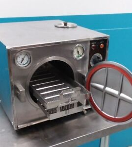 Pelton Crane Ocm Steam Autoclave sterilizer 30 Day Warranty