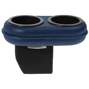 Classic Consoles 8797pcdkblue Mustang Cup Holder Reggata Blue 1987 97