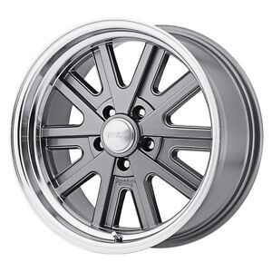 American Racing Vn52757012416n Mustang Vn527 Shelby Cobra Wheel 15 x7 Mag Gray