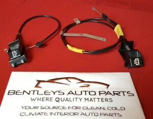 1988 1994 Chevy Gmc Truck Suburban Dashboard Lower Air Vent Pull Out Cable Set