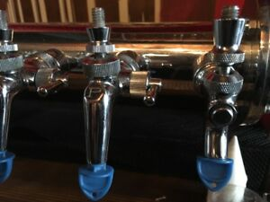Perlick 12 Tap Beer System With Flow Adjusters