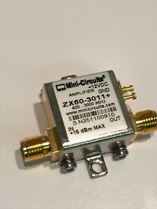 Mini circuits Zx60 3011 Broad Band Lna 400mhz 3 0ghz 21dbm Rf Amp Fbb16 5