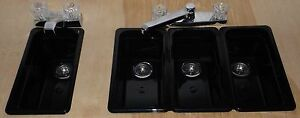 Sm Black Concession Stand Sinks Sinks For 3 Compartment Hand Wash