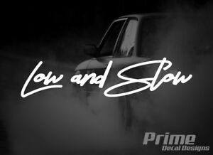 Euro Jdm Lowered Stance Low And Slow Car Wall Window Vinyl Decal Sticker