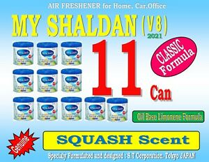 10 Can My Shaldan Air Freshener V6 Squash Scent Real Fruit Aroma