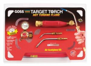 Goss Kx 3b Soldering Brazing Torch Kit For b Acetylene Tanks With Ga 3 And