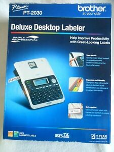 Brother P touch Pt 2030 Label Maker New Plus Tape Instructions