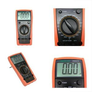 Dm4070 Lcr Meter Multimeter Tester Capacitance Inductance Resistance Compared